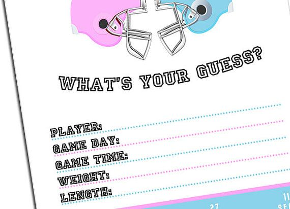 PRINTABLE Whats your guess Gender Reveal Party Game by rocketliv, $8.00