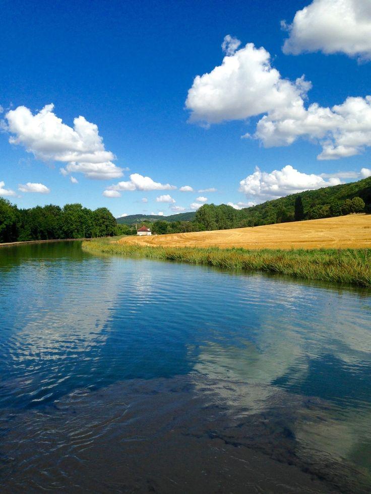 Burgundy Canal on European Waterways' barge holiday