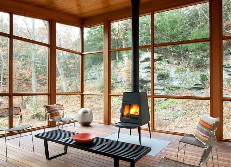 wise design: Time for a Warm Up: Wood Stoves vs. Fireplaces