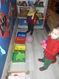 Onthaalklas 2012 - 2013: Thema 'Ballen & Ballonnen'