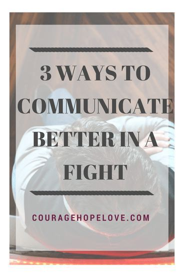 How to get your point across in a way that is loving. Communicate better in any fight.
