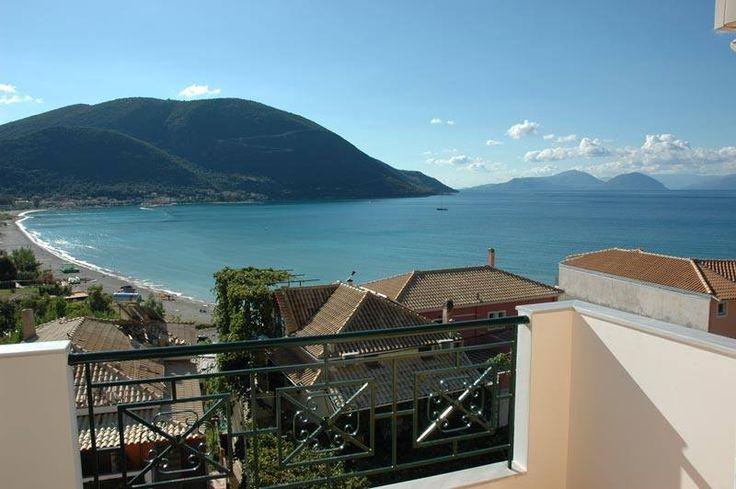 View from the peaceful and beautiful Villa Axilleas Vassiliki Lefkada