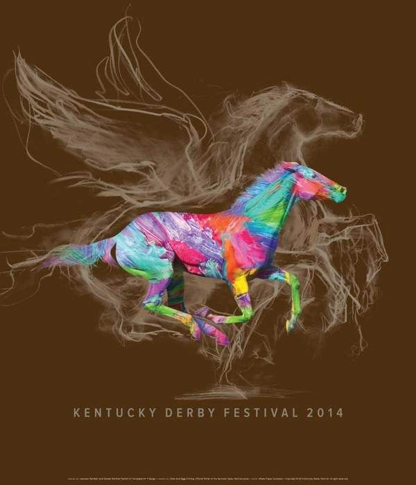 The official 2014 Kentucky Derby Festival poster was the product of Louisville artists and twin sisters — Jeaneen Barnhart and Doreen Barnhart DeHart, the Kentucky Derby Festival's official poster artists for the 2014 festival. They are the first artists to have their artwork chosen four different times. The siblings also collaborated on artwork for the festival poster in 1994, 1997 and 2009.