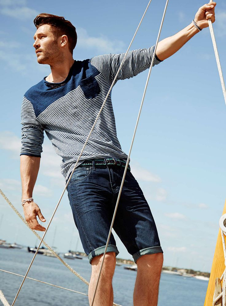 John Halls Models Nautical Styles for Simons Summer 2014 ...