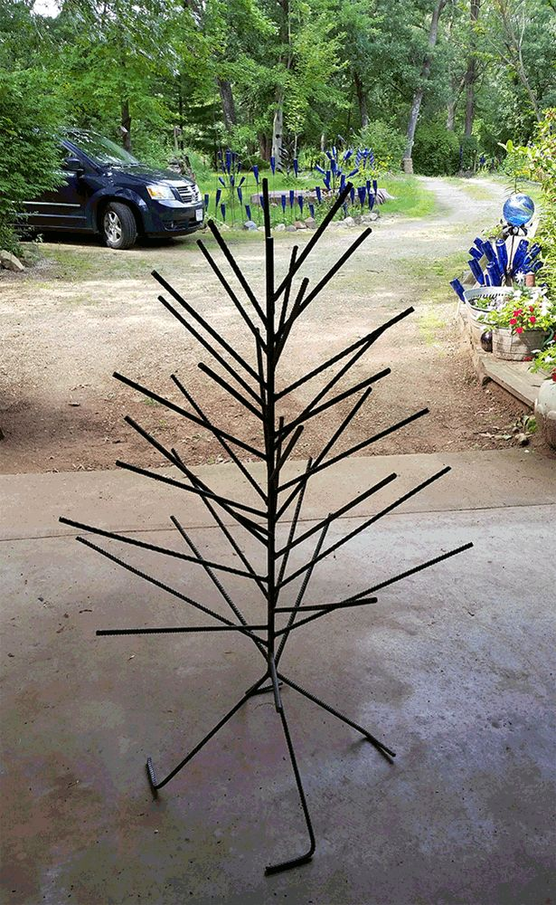 Best 25 bottle trees ideas on pinterest wine bottle for How to make a wine tree