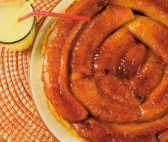 tarte tatin à la banane                                                                                                                                                                                 Plus