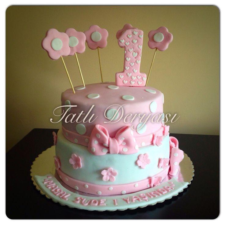 Cake/1 yaş pastası/ şeker hamuru
