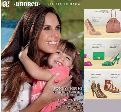 Catalogos Andrea Dia de las Madres 2016 - Ofertas y Regalos para Mamá. Catalogo de Andrea Mexico.