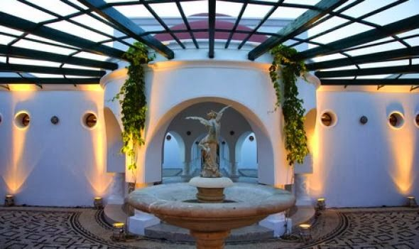 Wedding in Rhodes: Historic location and stunning views . Kalithea Springs~ Weddings in Greece