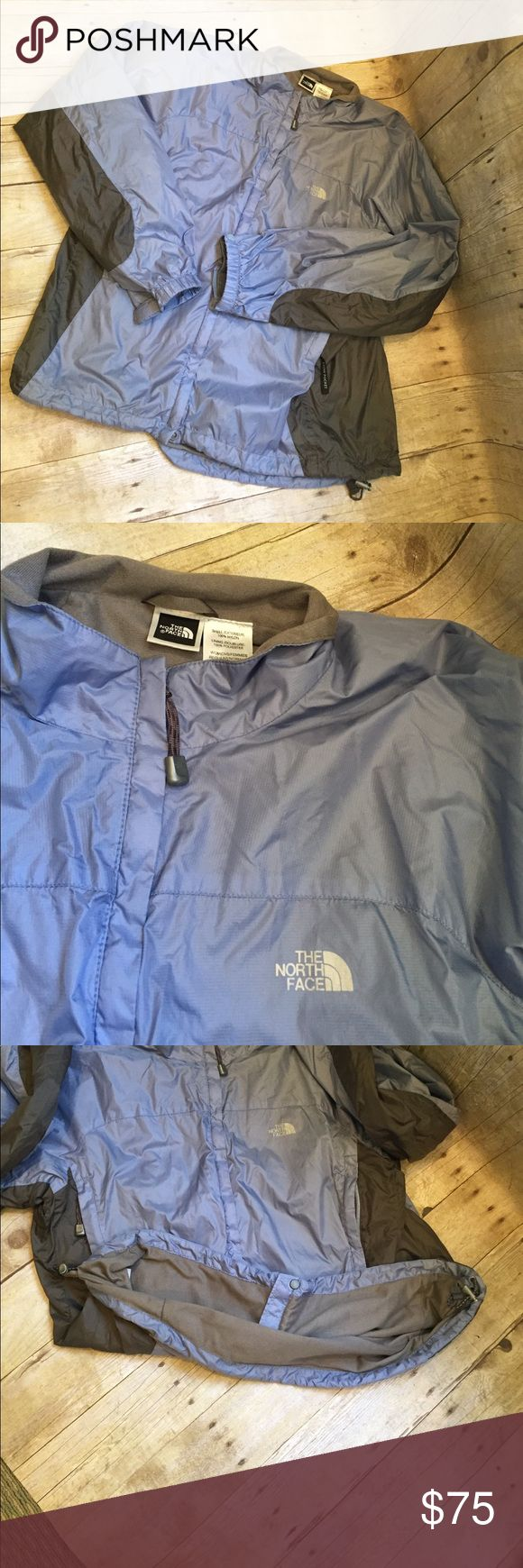 NORTH FACE XL purple/grey XL Women's jacket North Face XL women's jacket nylon outside. Lining poly. Bought but too big. North Face Jackets & Coats Utility Jackets