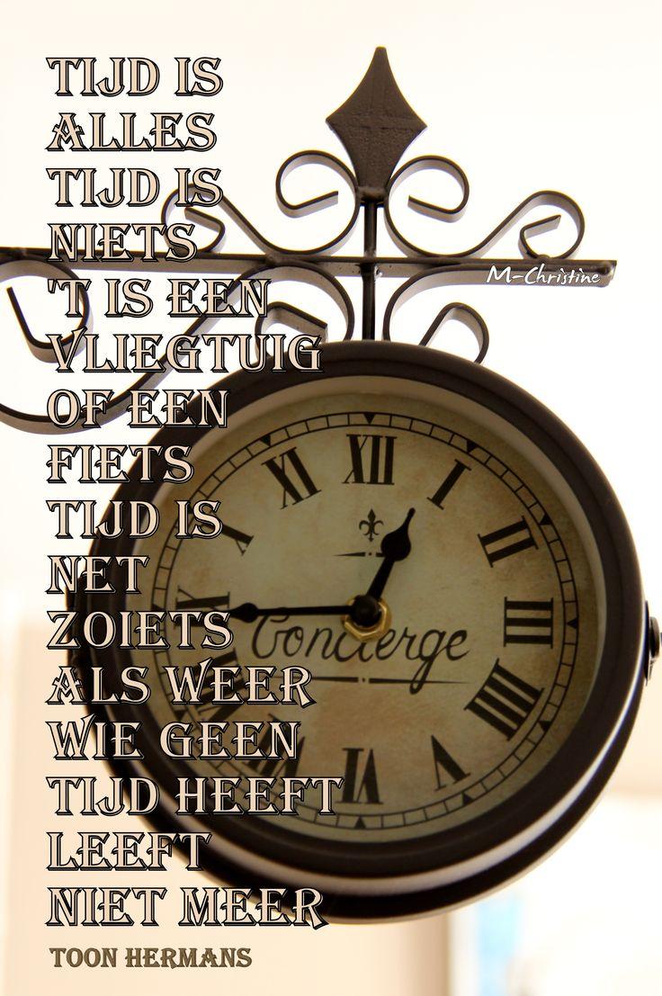 Toon Hermans (Tijd is alles tijd is niets)