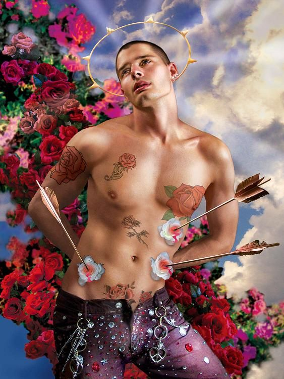 Image result for gay st sebastian