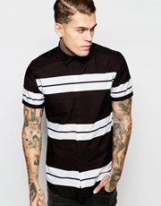 ASOS Shirt With Stripe Print
