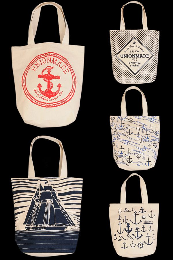 F R E E / M A N - Journal - UnionmadeTotes. these are perfect. makes my logo-loving self happy.