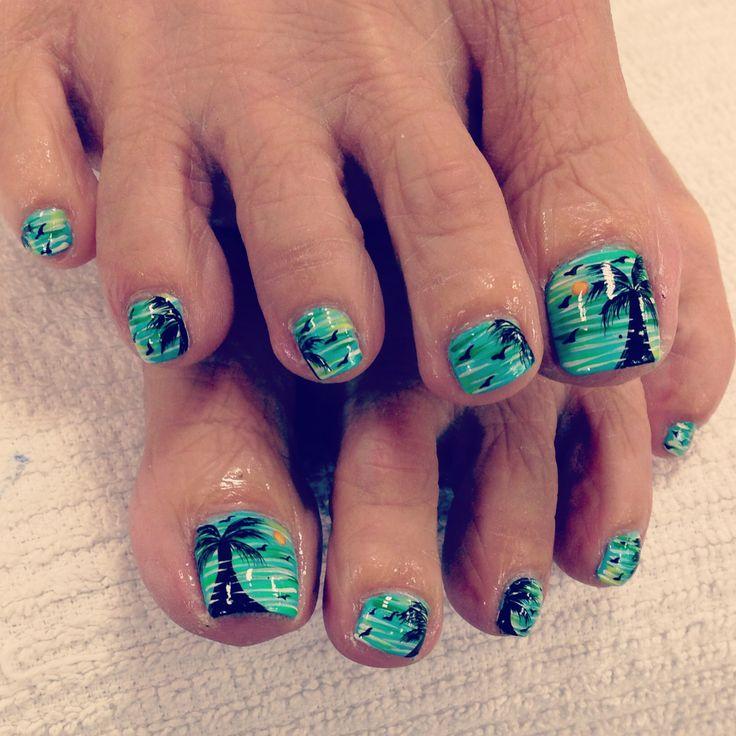 top 25 best beach pedicure ideas on pinterest toenails