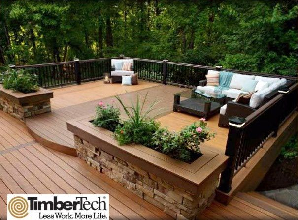 Above+Ground+Pools+Decks+Idea | timbertech decking best decking award finalist
