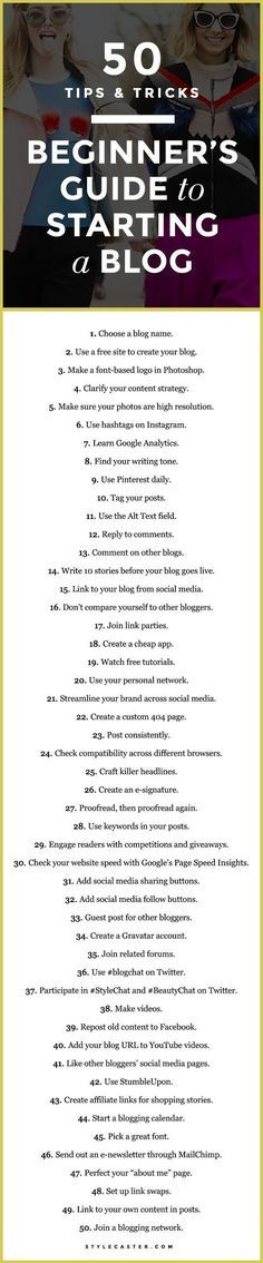 A Beginner's Guide to Starting a Blog: 50 Essential Tips and Tricks