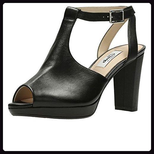 Clarks  Kendra Charm, Damen Sport- & Outdoor Sandalen schwarz schwarz, schwarz - schwarz - Größe: 35 EU D - Sandalen für frauen (*Partner-Link)