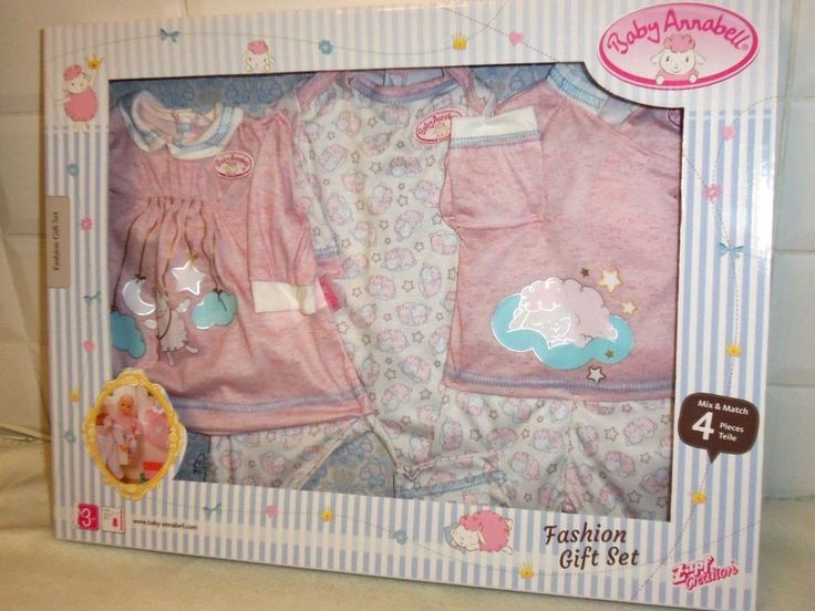 BABY ANNABELL FOUR PIECE CLOTHING SET BNIB ZAPF CREATION | Dolls & Bears, Dolls, Clothing & Accessories, Baby Dolls & Accessories | eBay!