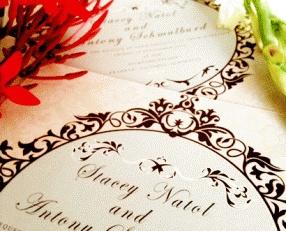 #Wedding_Invitation @agweddingsasia  Stacey & Anthony