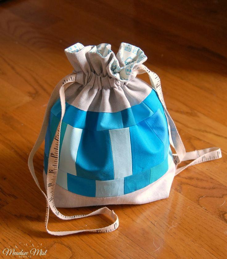 The drawstring bag