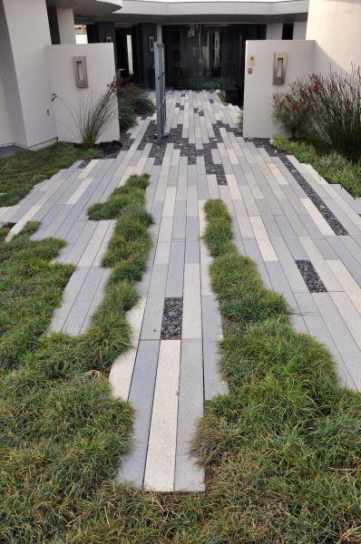 Idea para pavimentación de vía principal