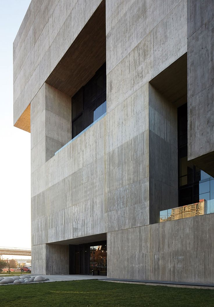 Pritzker 2016 laureate Alejandro Aravena's Innovation Center UC photographed by Cristobal Palma