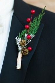 STYLEeGRACE ❤'s this Wedding Boutonnière!