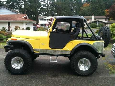 1974 jeep cj5 Dimond Plating