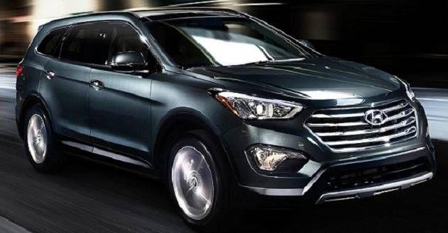 2017 Hyundai Grand Santa fe Redesign Review