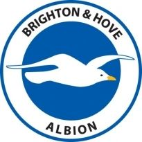 Brighton & Hove Albion FC Logo. Get this logo in Vector format from https://logovectors.net/brightonhove-albion-fc/