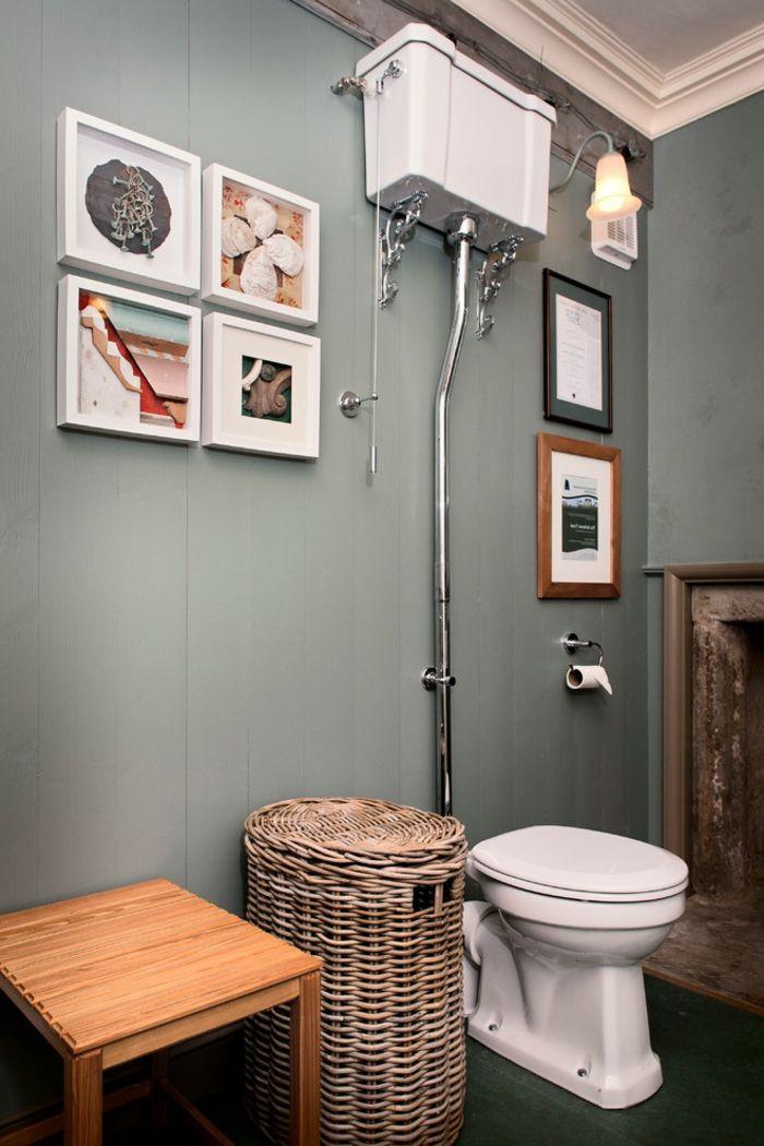 1001 Idees Pour Une Peinture Pour Toilettes Chic Et Glamour Toilettes Amenagement Toilettes Decoration Toilettes