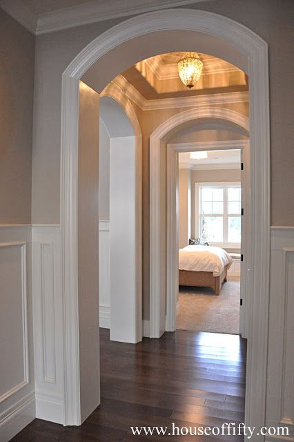 Isabella Max Rooms: Street of Dreams Portland Style - House 6......hallway, mater on one side and bath on other side.