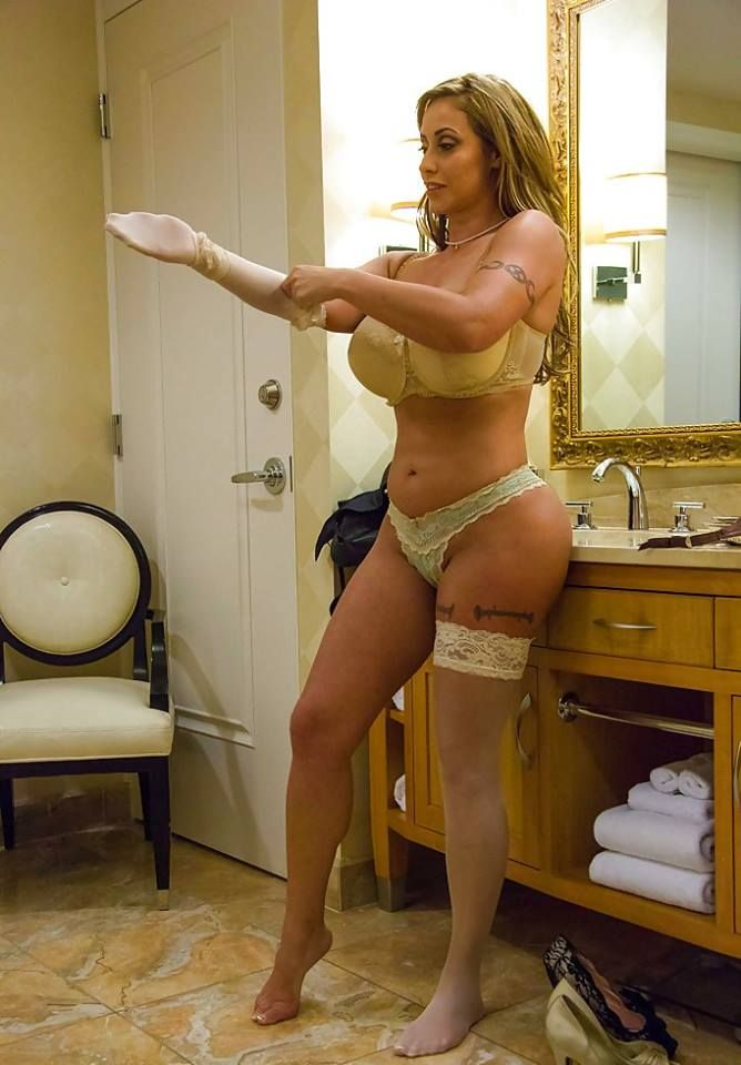 Louiseetmartin : He fucks his friend in hot lingerie and cums on her ass