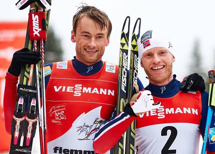 """Northug : """"Sundby c'est le meilleur""""  Largement battu et même rattrapé sur la piste par son coéquipier, le multiple champion du monde de ski de fond s'est montré élogieux envers Martin Sundby. Pour lui il sera quasi imbattable cette saison..."""