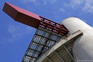 Toit Stade San Siro Giuseppe-Meazza Milano (AC Milan / Inter Milan) - Architectes : Giancarlo Ragazzi, Enrico Hoffer, Leo Finzi