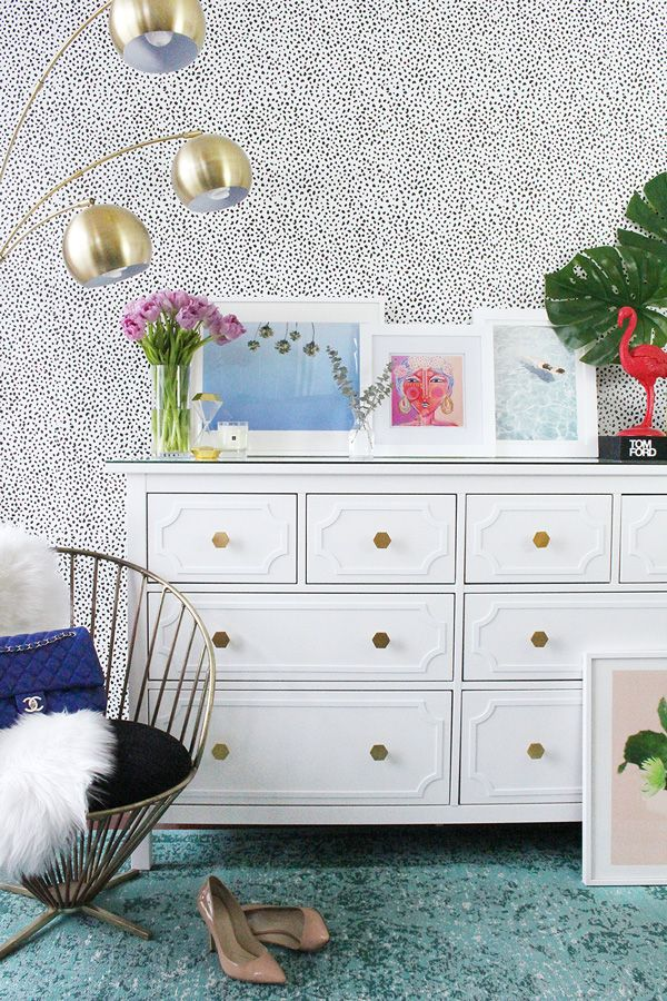 Ikea Hemnes 8 drawer dresser DIY hack