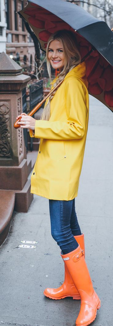 Rainy Days Outfit Idea by Barefoot Blonde