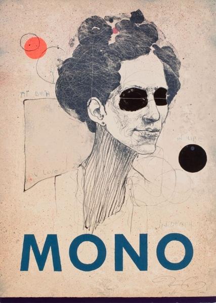 Kasper Eistrup MONO #2. Litograph