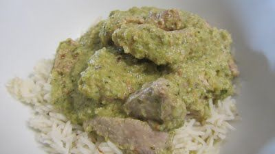 For The Love Of Food: Mexican Green Mole with Thermomix
