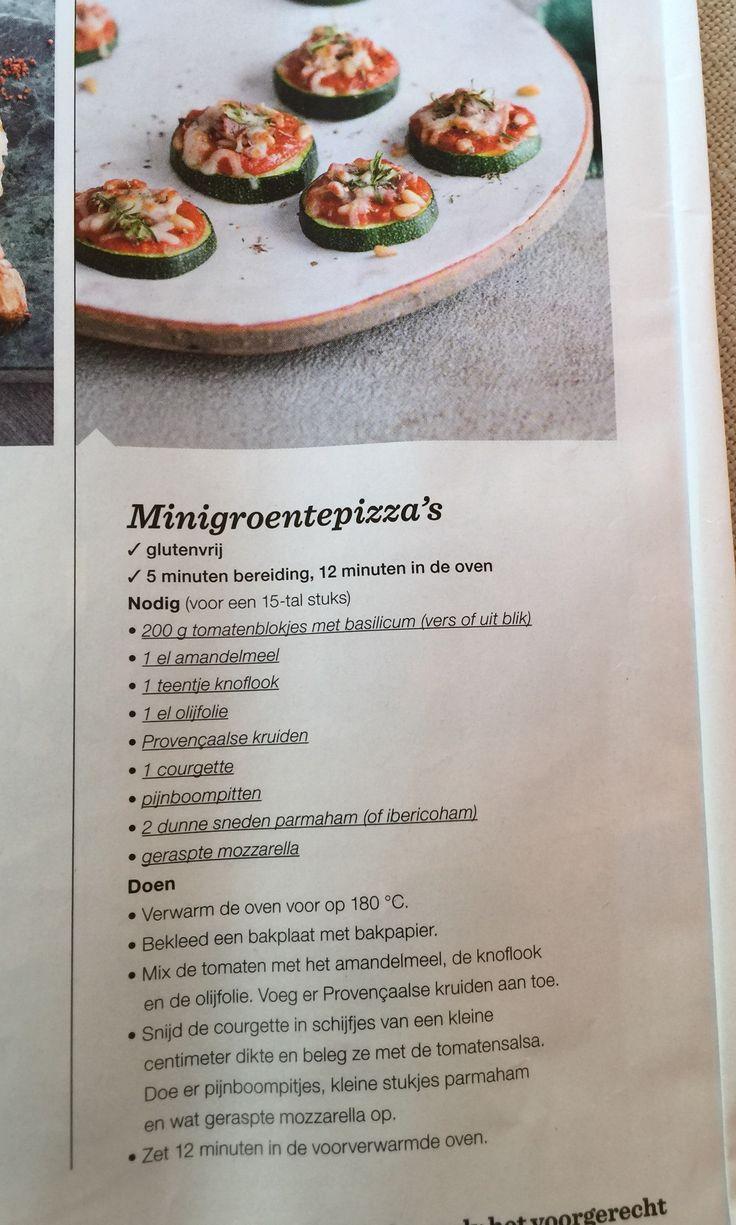 Minigroentenpizza's Sandra Bekkari