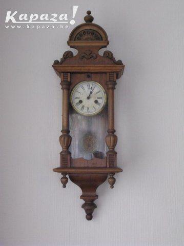 Antieke houten klok, Klokken, Wetteren | Kapaza.be