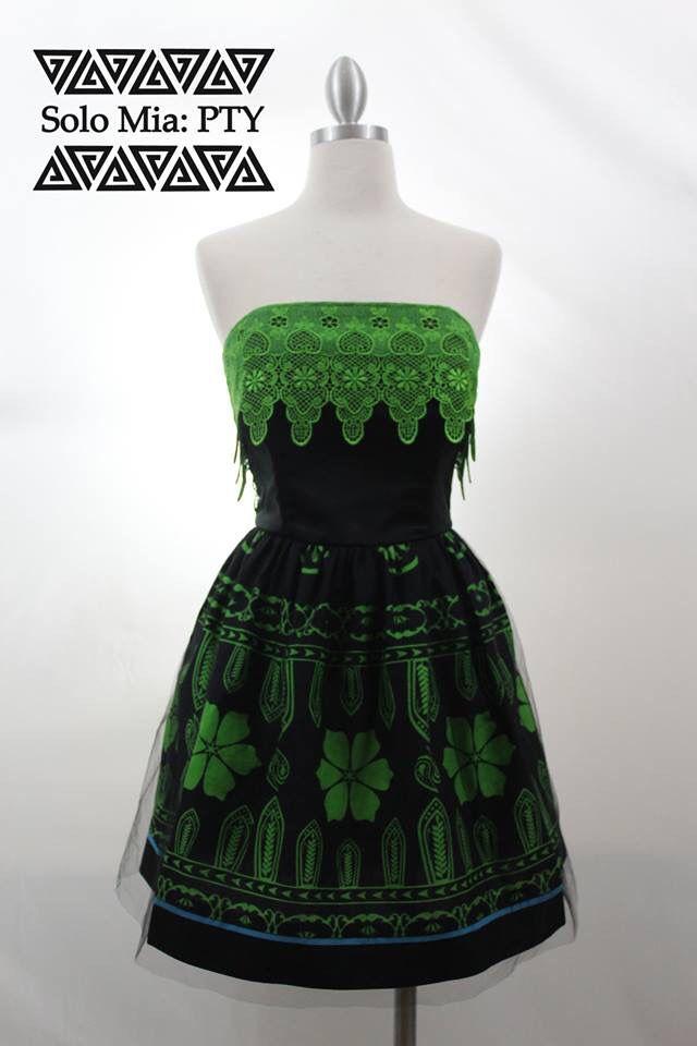 Vestido estilizado con #telasaburete #guna | | ideal para esas ocasiones donde…