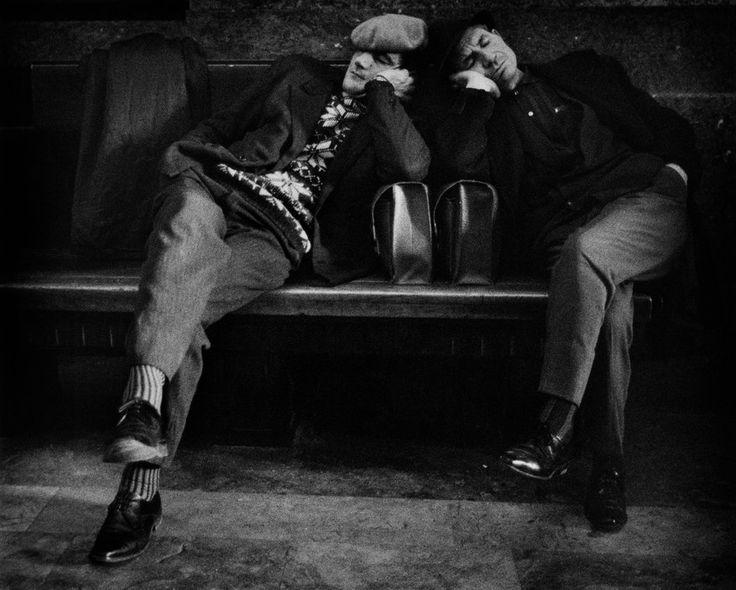 Bruno Barbey. Milan 1964