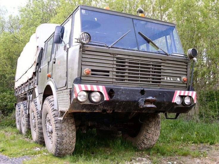 One of my all time favorite Trucks and bases for a expedition camper , Tatra 813 KOLOS. One of the most capable heavy off road trucks.