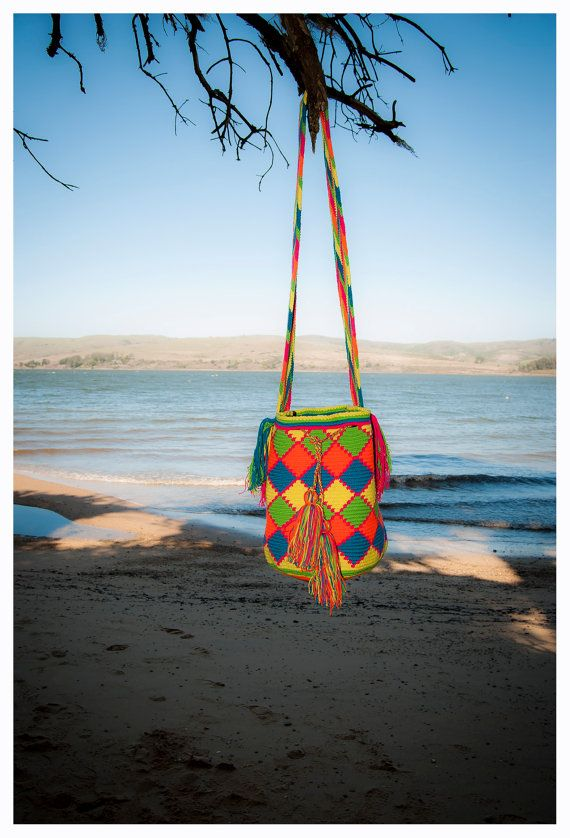 Wayuu Bags  Art and Heritage by 4Elementos on Etsy, $179.00 Under Fair trade agreements!.