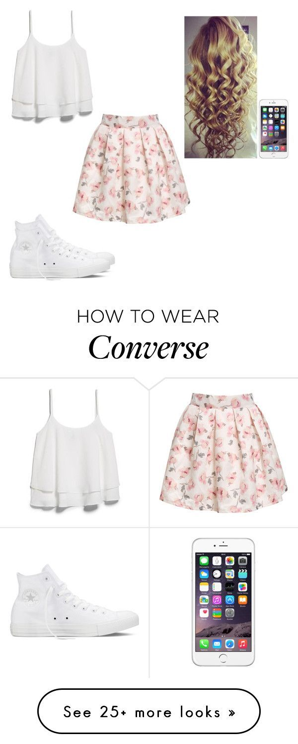 """Untitled #442"" by hannahmcpherson12 on Polyvore featuring MANGO and Converse"