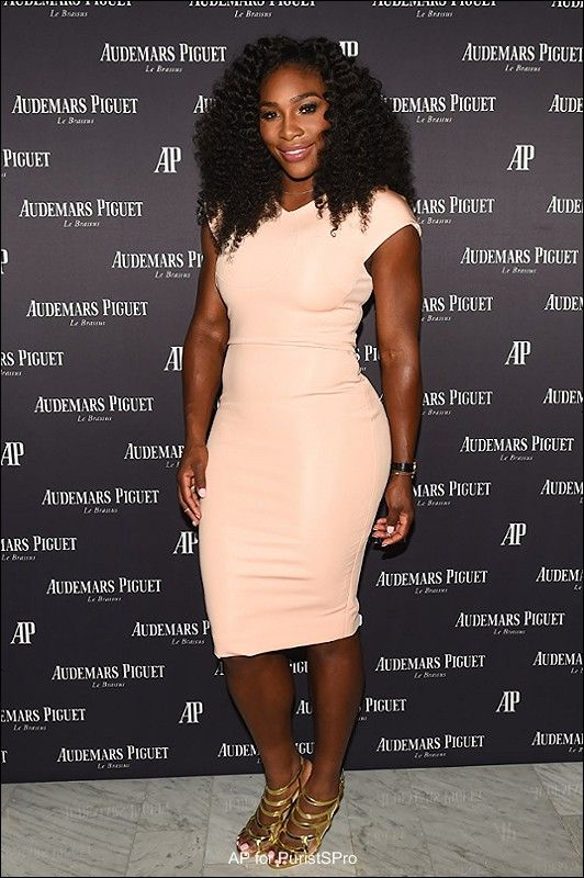 Audemars Piguet hosts NYC party with Brand Ambassadors Serena Williams & Stan Wawrinka