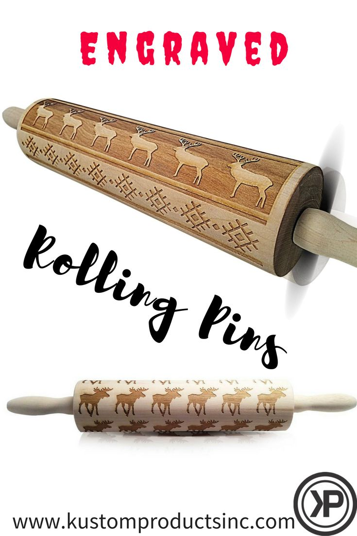 20 best Rolling Pins images on Pinterest | Rolling pins, Custom ...