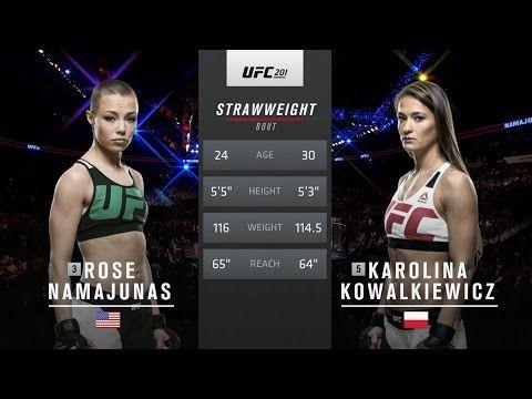 UFC (Ultimate Fighting Championship): UFC 205 Free Fight: Karolina Kowalkiewicz vs Rose Namajunas